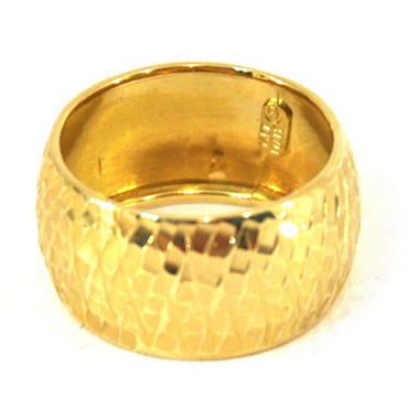 14KY RING BOLD DOME BAND