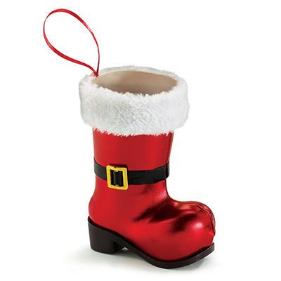 Santa Boot Vase (12 ct.)