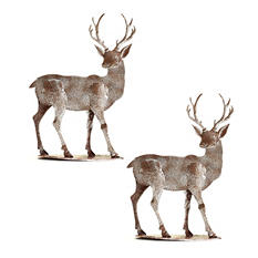 Holiday Deer Set - Medium (2 pk.)