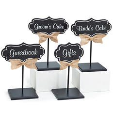 Décor Wood Design Wedding Kit (Set of 4)