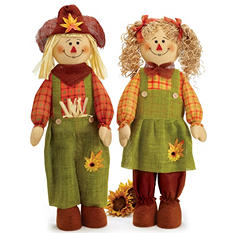 Scarecrow Boy and Girl Set