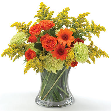 Double Glass Vase with Inner Cylinder - 6pk