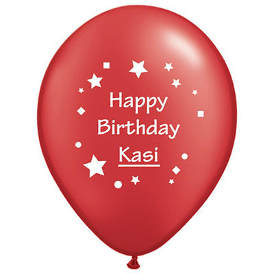 "11"" Latex Custom Imprint Balloon - Metallic - 100 ct."
