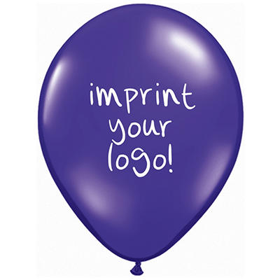 "11"" Latex: Custom Imprint Balloon - Special - 100 ct."
