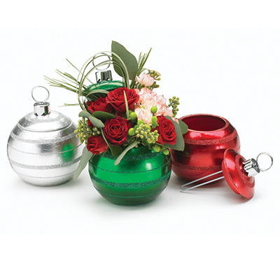 Ornament Shaped Planter - 2 each