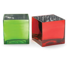 Cube Candleholder Vase (6 ct.)