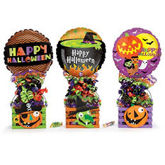 Wooden Halloween Crate Gift (6 ct.)