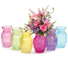 Ginger Glass Vase (12 pk.)