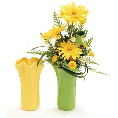 Spring Ceramic Vase (8 pk.)
