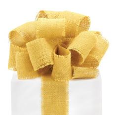 Burlap - Mustard