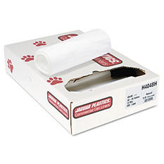 Jaguar Plastics - Heavy Grade Can Liners, 45gal, 13mic, 40 x 48, Natural -  200/Carton