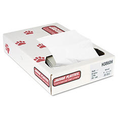 Jaguar Plastics - Heavy Grade Can Liners, 60gal, 13mic, 38 x 60, Natural -  200/Carton