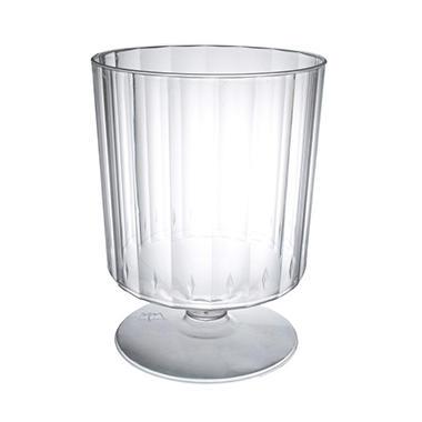 Party Essentials Plastic Wine Stem Glasses, 8 oz. (240 ct.)