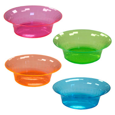 Neon Assorted Bowls - 10 oz. - 240 ct.