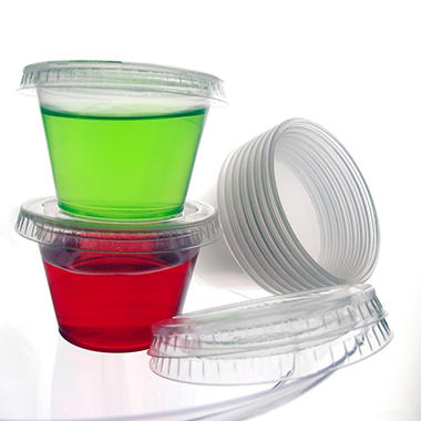 Plastic Shot Cups with Lids - 450 ct.