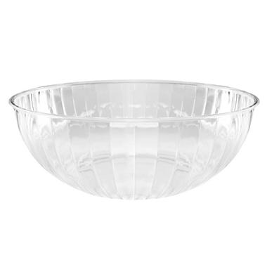 Plastic Serving Bowls - Clear - 192 oz. - 6 pk.
