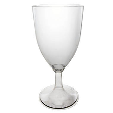 Clear Plastic Wine Glasses - 8 oz. - 48 ct.