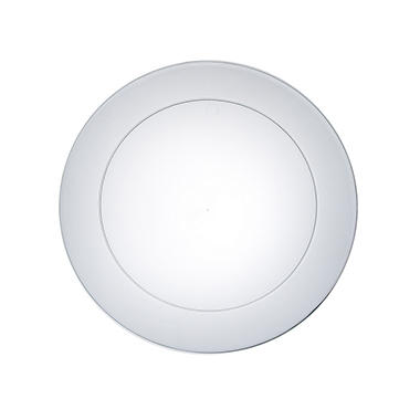 "Clear Party Plates - 6"" - 480 ct."