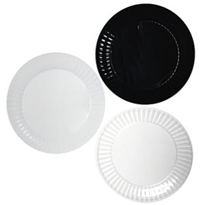 "Party Essentials Deluxe Plastic Plates, 6"", Select Color (288 ct.)"