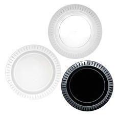 "Party Essentials Elegance Plastic Plates, 7.5"", Select Color (288 ct.)"
