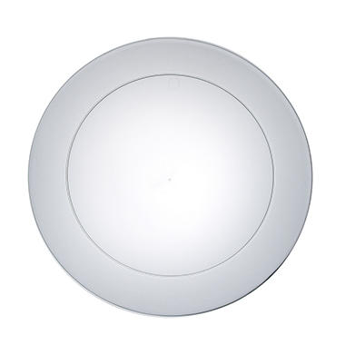 "Clear Party Plates - 9"" - 360 ct."