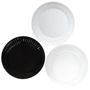 "Party Essentials Deluxe Plastic Plates, 10.25"", Select Color (168 ct.)"