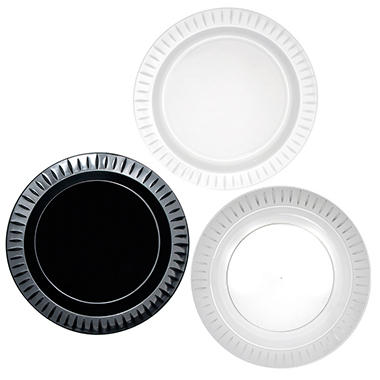 "Party Essentials - Elegance Plastic Dinner Plates, 10.25"" - 168 Plates"
