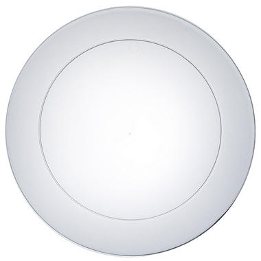 "Clear Party Plates - 10.25"" - 240 ct."