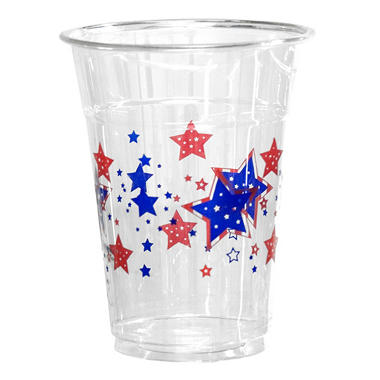 Party Essentials Stars Soft Plastic Cups - 16 oz. - 500 ct.