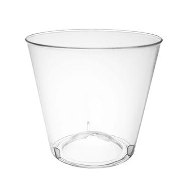 1 oz. Clear Shot Glasses - 2500 ct.