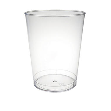 Hard Plastic Clear Tumblers - 500 ct. - Various Sizes