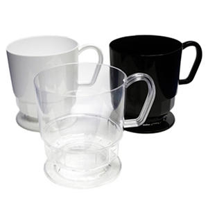 Party Essentials Plastic Coffee Cups, 8 oz., Select Color (120 ct.)