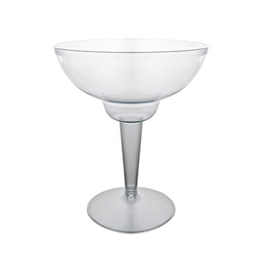 Party Essentials Plastic Margarita Glasses, 12 oz. (120 ct.)
