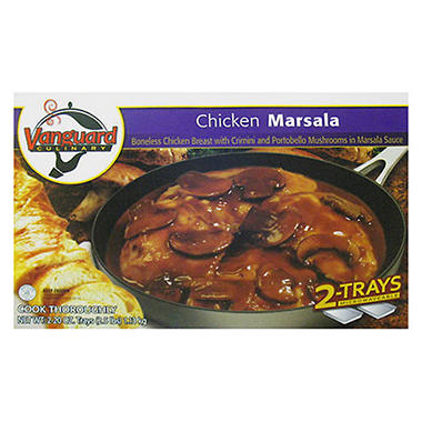Vanguard Culinary Chicken Marsala - 2/20 oz.