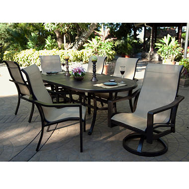 Heritage Sling Dining Set - 7 pc.