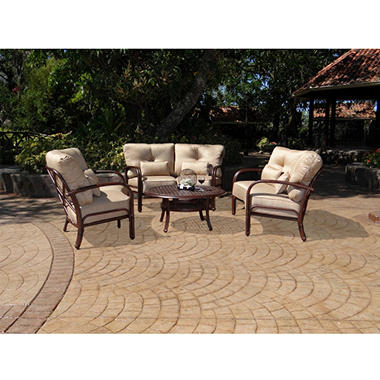 Meridian Crescent Outdoor Deep Seating Set 4 pc.