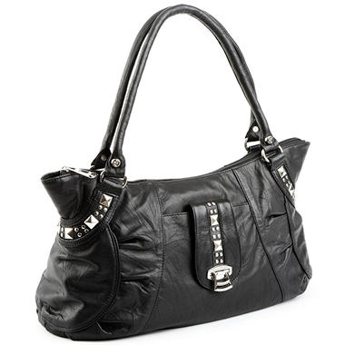 Allison Scott Leather Rosalia Tote - Black