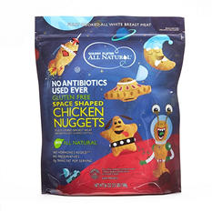 Golden Platter Space Shaped Chicken Nuggets (3.5 lb.)