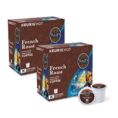Tully's Coffee, French Roast, K-Cup Pods (180 ct.)