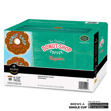 Green Mountain Coffee The Original Donut Shop Extra Bold Coffee K-Cup Packs - 80 ct.