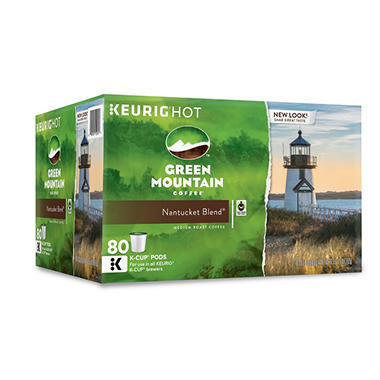 Green Mountain Coffee Nantucket Blend K-Cup Packs - 80 ct.