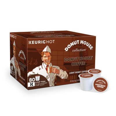 Donut House Light Roast Coffee K-Cup Packs - 80 ct.