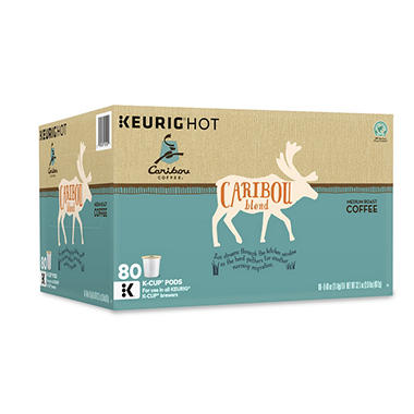 Caribou Coffee Caribou Blend K-Cup Packs - 80 ct.