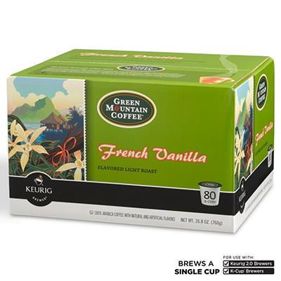 Green Mountain Coffee, French Vanilla (80 K-Cups)