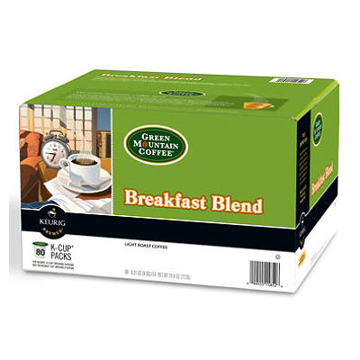 Green Mountain Coffee, Breakfast Blend (80 K-Cups)