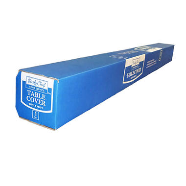 "Bakers & Chefs Table Cover Roll - 40"" x 300'"