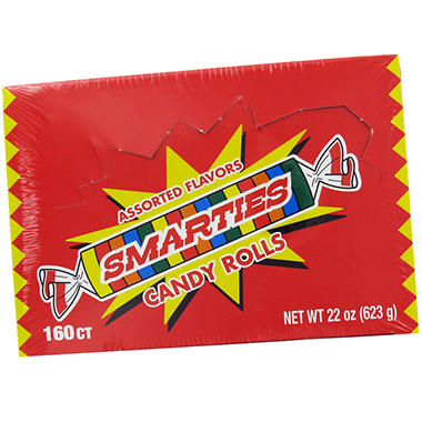 Smarties Candy - 160 ct. Box