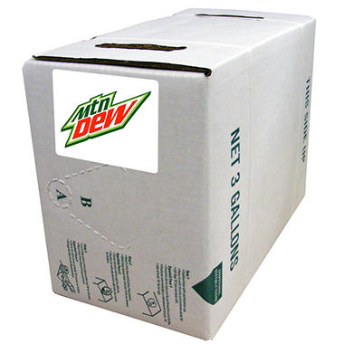Mountain Dew Syrup - Bag-In-Box - 3 gal.