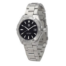 Men's TAG Heuer Black Dial Aquaracer Watch