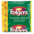 Folgers Classic Decaffeinated Portion Pack Coffee, 0.9 oz. - 42 ct.